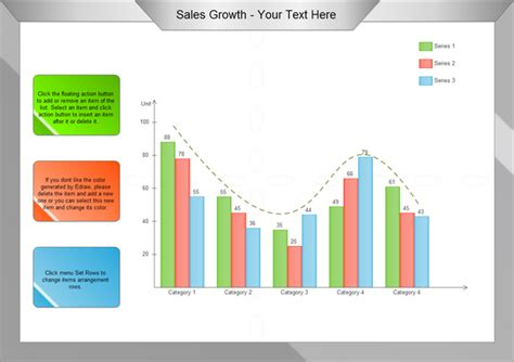 sales growth plan template chart exles