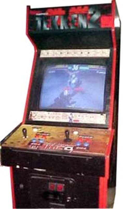 4 Player Arcade Cabinet Kit Tekken 2 Videogame By Namco
