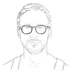 1000 images about adult coloring books on pinterest coloring books ryan gosling and coloring