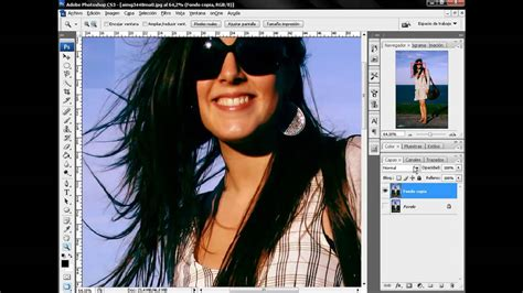 tutorial photoshop cs5 como recortar una imagen tutorial photoshop recortar cabello con canales youtube