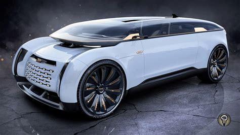 Audi Zukunft by Future Audi E Imperator Luxury Autonomous Vehicle