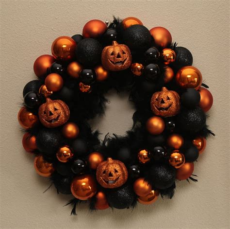 halloween wreaths chasing   life