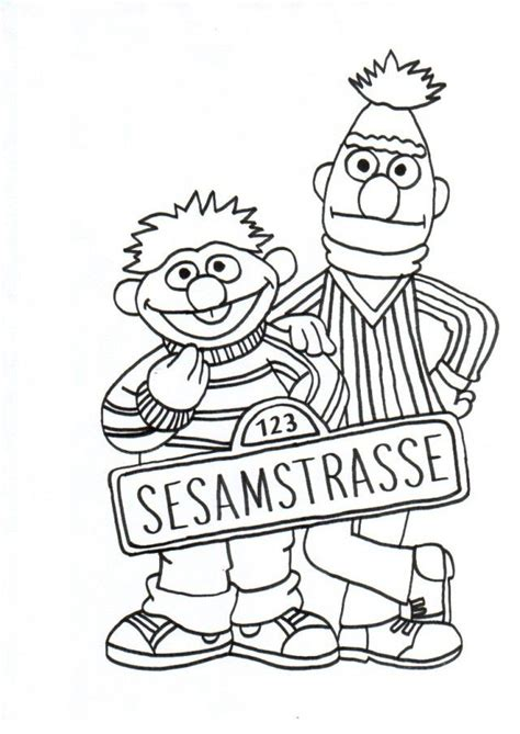 bert and ernie coloring pages az coloring pages