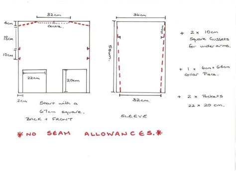 pattern for an art smock kleding on pinterest pajamas capes and smock dress