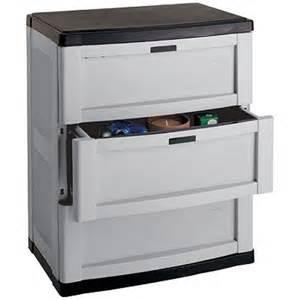 three drawer garage cabinet gray in storage cabinets