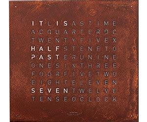 Uhr Schriftanzeige by Qlocktwo Classic Ab 1 165 00 Preisvergleich Bei Idealo De