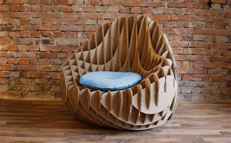 Eco House Plans by Mc 205 Recycled Cardboard Armchair By Nordwerk Design