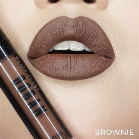 Lipstik Goban Lip swatched goban cosmetics melted matte lip lippielust