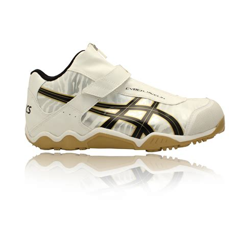 athletic spikes shoes asics cyber javelin mens white track field shoes