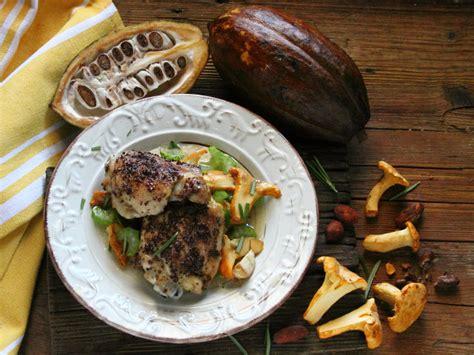 pollo con sedano pollo al cacao con finferli e sedano ricette fileni