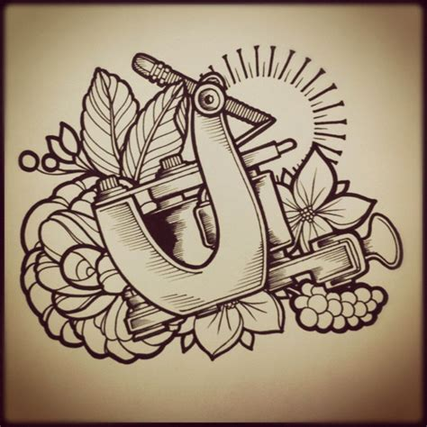 dise 241 o tattoo machine design dise 241 o tattoo tatuaje
