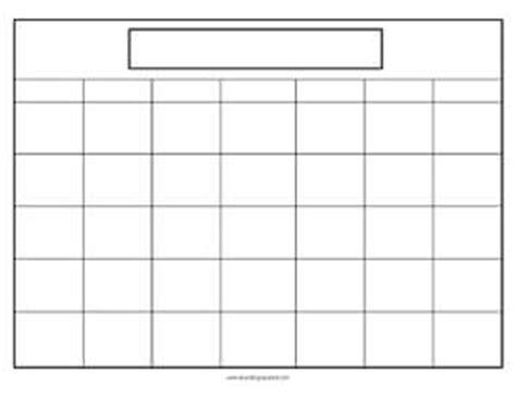 calendar printables teaching squared