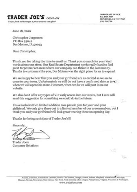 Credit Trader Cover Letter by Letters Dear Trader Joe S