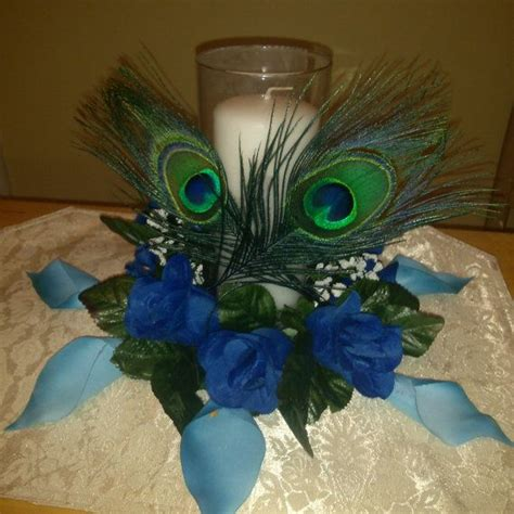 25 best ideas about peacock wedding centerpieces on