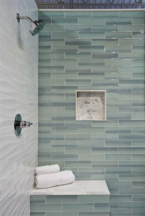 glass tile bathroom designs 25 best ideas about glass tile shower on