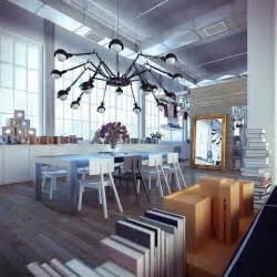 Loft Interior Design Industrial Loft