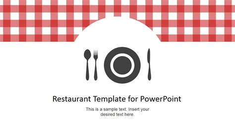 restaurant template restaurant menu powerpoint template slidemodel