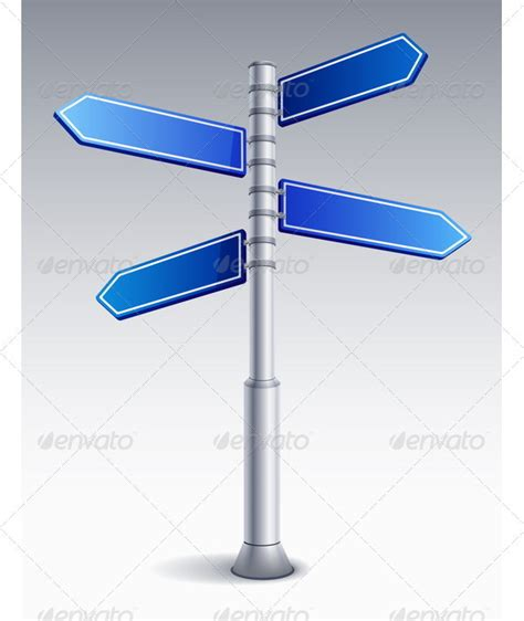 sign post template free road sign png 187 dondrup