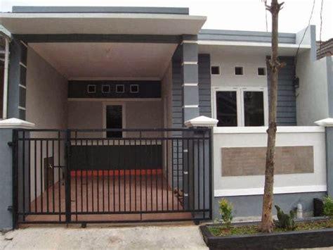 desain garasi mobil rumah sederhana model rumah minimalis ada garasi mobil gambar om