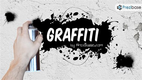 graffiti wall template graffiti prezi template prezibase