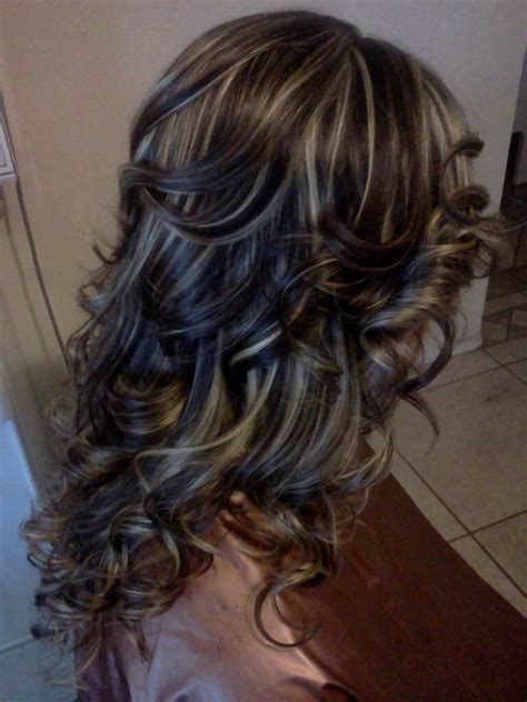 brown curly hair with low lights 2682 best images about hair style on pinterest red