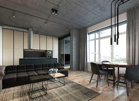 concrete loft 3 concrete lofts with wide open floor plans