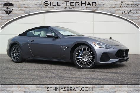 2019 maserati granturismo 2019 maserati granturismo for sale in broomfield co sill