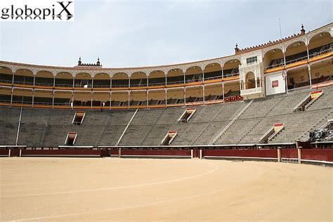 voli interni spagna foto madrid interno della plaza de toros di madrid globopix