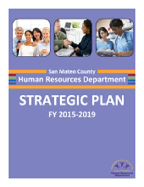 2015 2019 Hr Department Strategic Plan Human Resources Department Department Strategic Plan Template