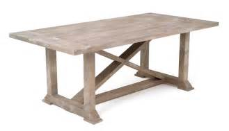 farmhouse harvest dining table rustic chic refined x base
