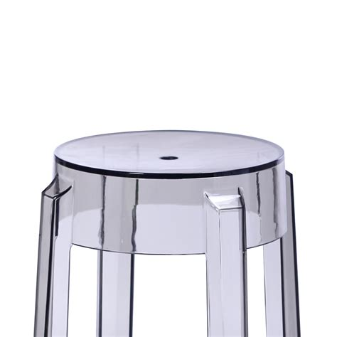 replica philippe starck charles ghost stool 46cm