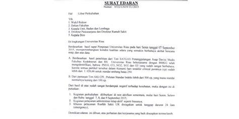 beredar surat protes kepada presiden jokowi di riau