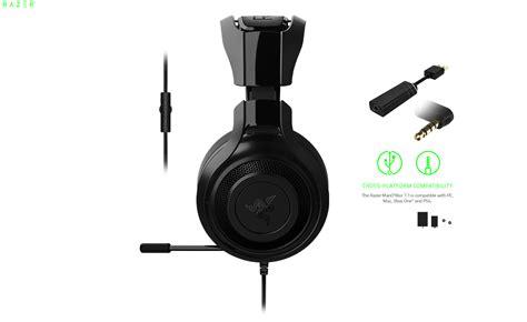 Razer Manowar 71 Surround Sound Gaming Headset razer mano quot war 7 1 gaming headset gr 252 n bei
