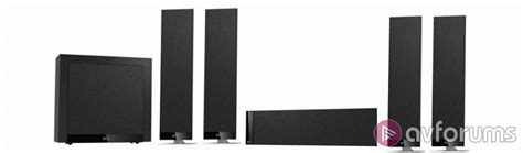 Speaker Kef T 305 5 1ch kef t 305 5 1 surround sound loudspeaker package avforums