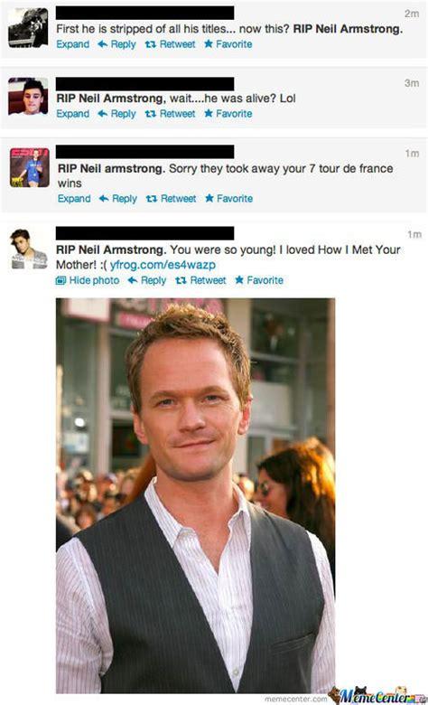 Neil Patrick Harris Meme - again people first billie joe and now neil patrick