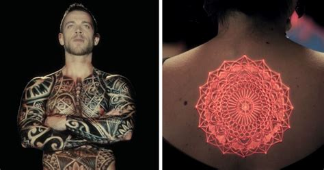ink mapping brings tattoos to life right on human skin