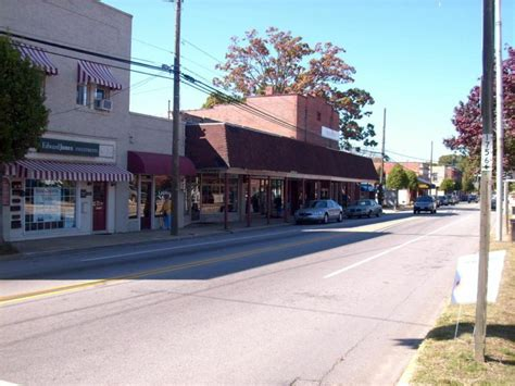 clayton north carolina the proposed historic district