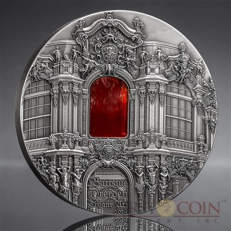 baroque basic art series palau 10th edition baroque dresden 10th anniversary tiffany art series silver coin 50 antique