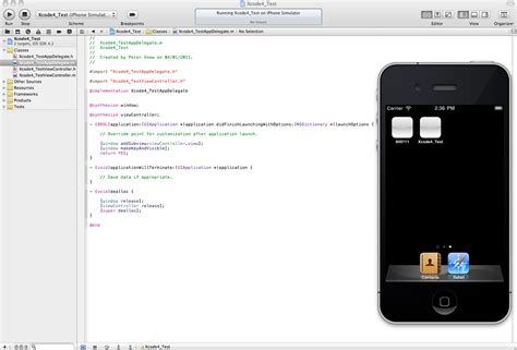 iphone app tutorial xcode 4 ios xcode iphone simulator does not look like an iphone
