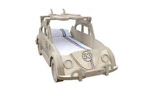 Children S Vw Beds Vw Quot Herbie Quot Beetle Theme Bed By Furniture Collection
