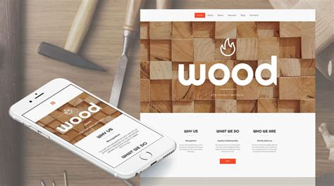 woodworking website template minimalist web design exles for your inspiration