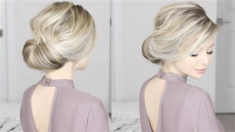 easiest updo  super simple perfect  long medium