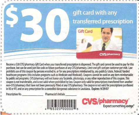 Cvs Transfer Prescription Gift Card - cvs 1 place for everyday freebies and cheap items
