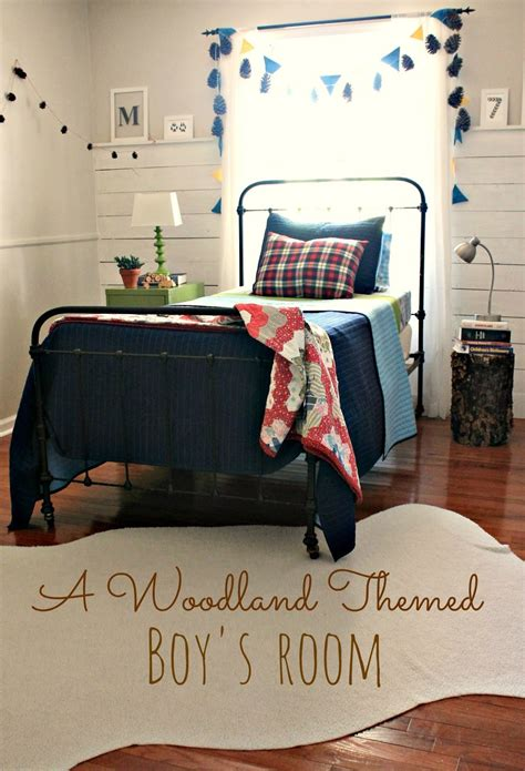 woodland themed bedroom the little farm diary woodland themed boy s room