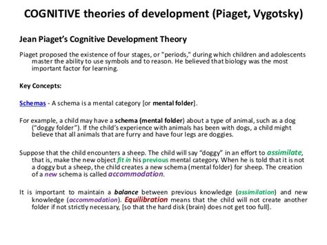 Cognitive Development Theory St The Apostle Catholic Church Columbus