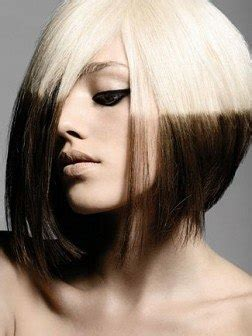 reverse bob with two tone color color de pelo de moda verano 2012 modaellas com