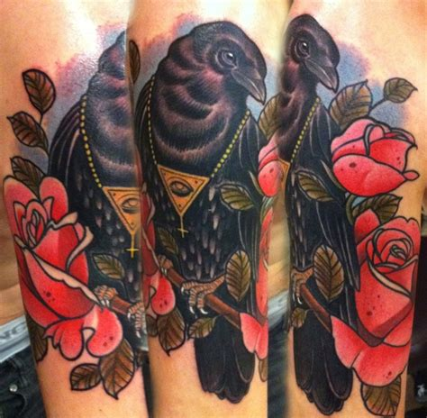 traditional crow tattoo 3d traditional butterfly tattoos design idea for and