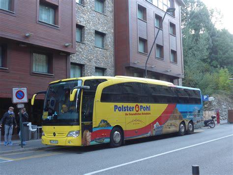 polster und pohl busreisen andorra fotos autobusse startbilder de