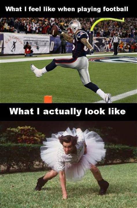 Funny Football Memes - what i feel like when playing american football jokes