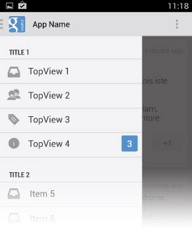 design guidelines navigation drawer android navigation drawer expandablelistview par